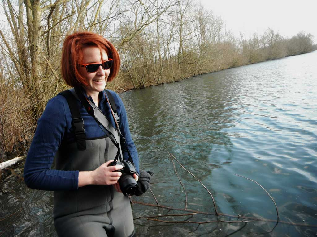 Chloé photographe officielle team raise fishing