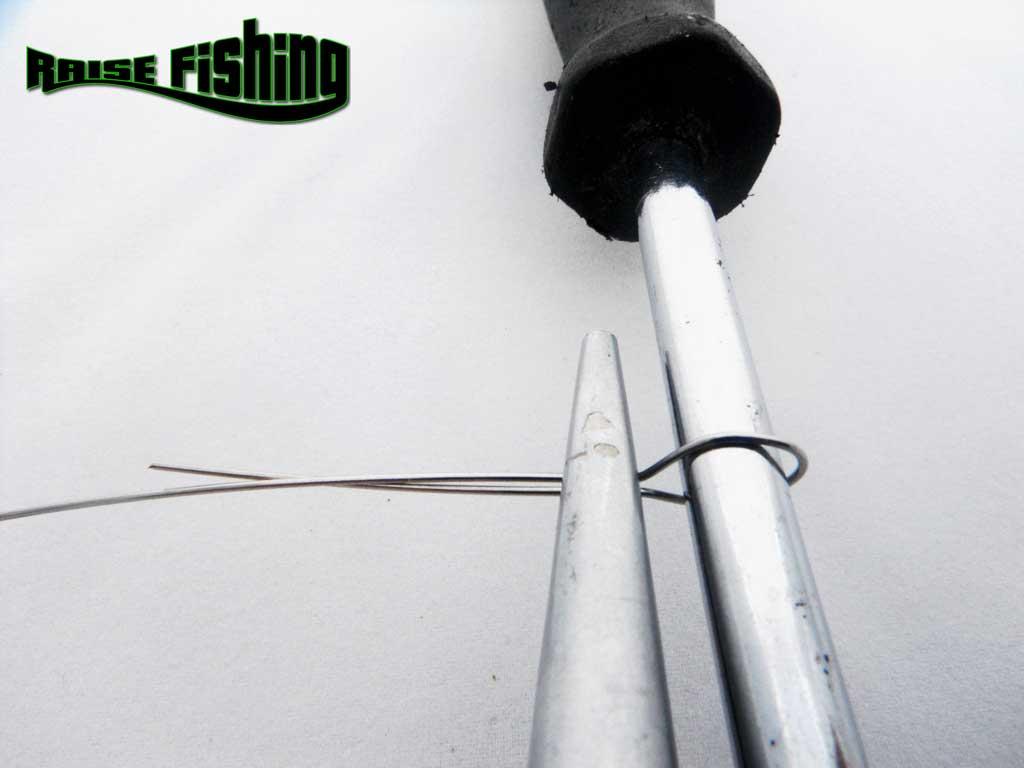 comment fabriquer ses montures mort manié maison www.raisefishing.com l'expérience de la pêche
