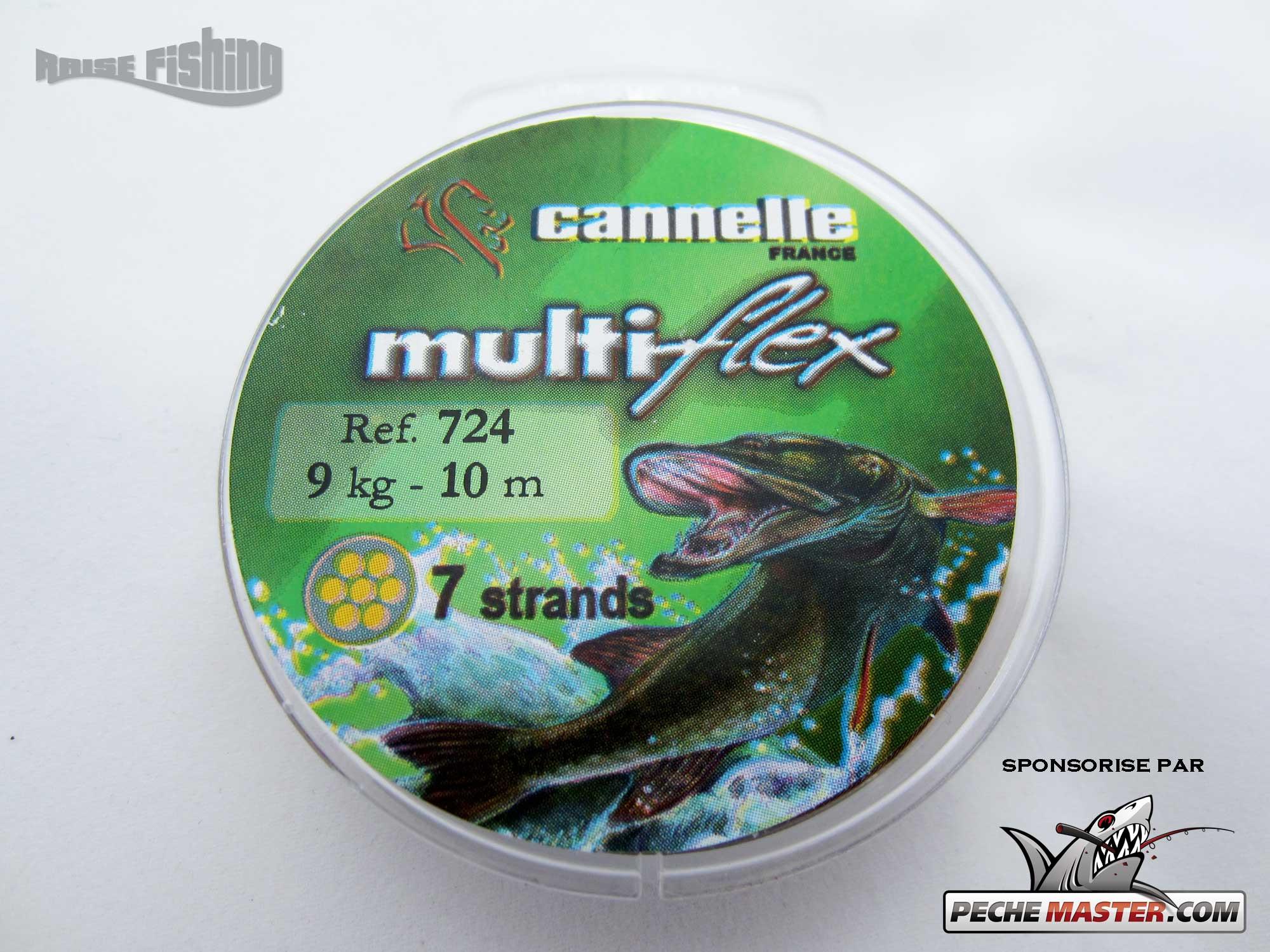 Test complet du fil d'acier Multiflex Cannelle