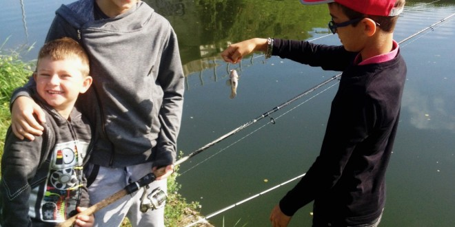 Le GOBIE d'eau douce, une pêche pour les enfants !