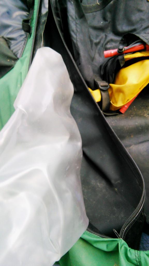 réparation float tube crevé