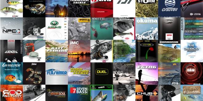 Nouveaux catalogues de pêche 2016