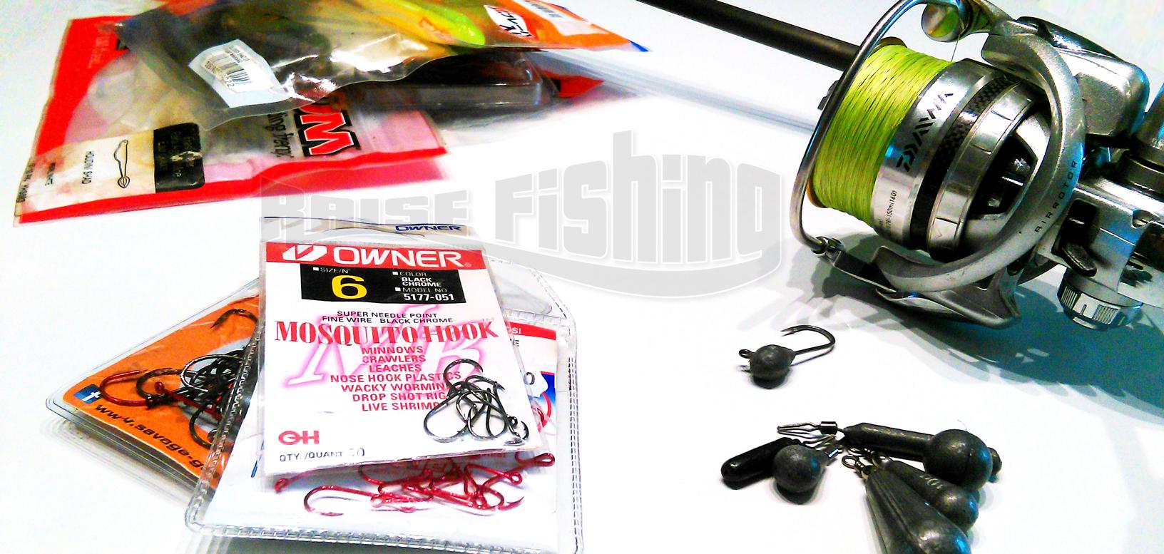 Pêche au Drop shot, tout savoir : conseils, montage, noeuds