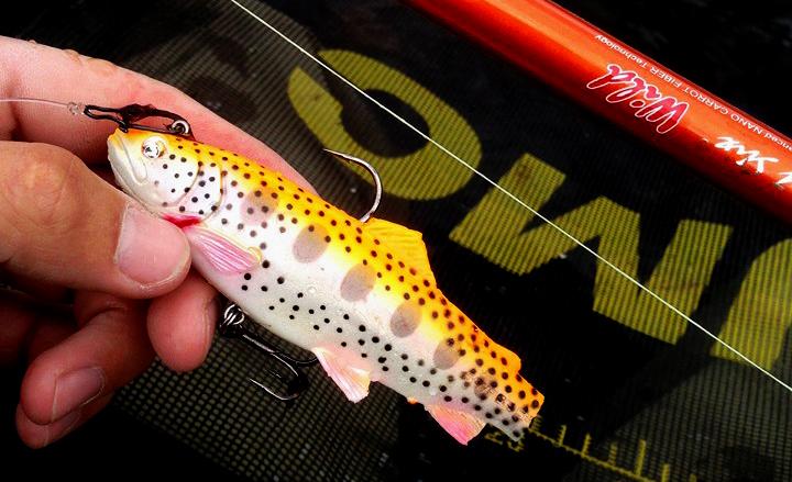avis leurre souple 3D trout shad savage gear