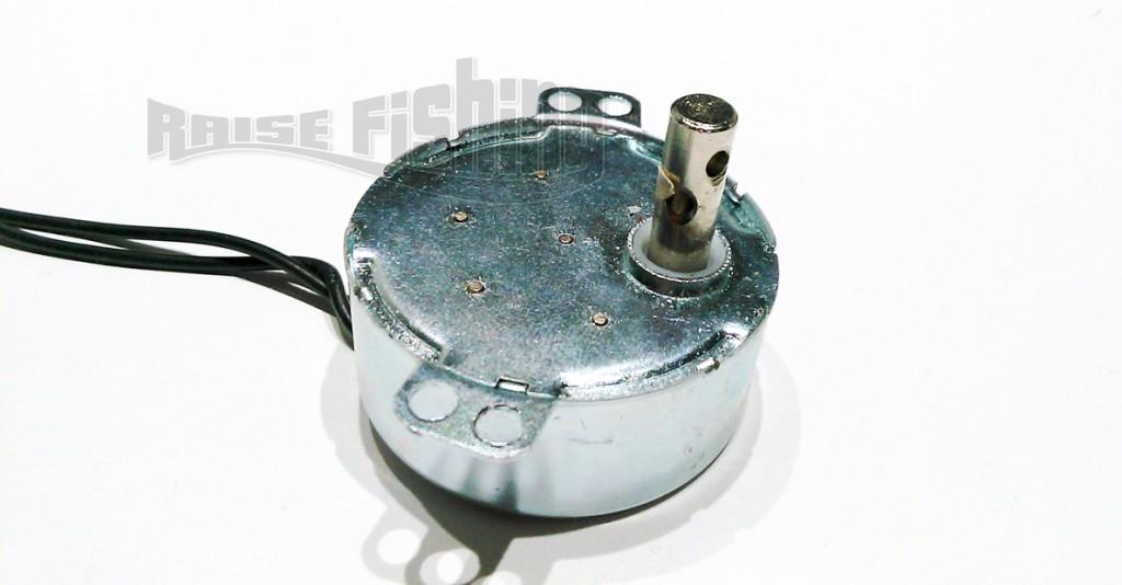 Montage d'un moteur pour banc à ligaturer ou de séchage