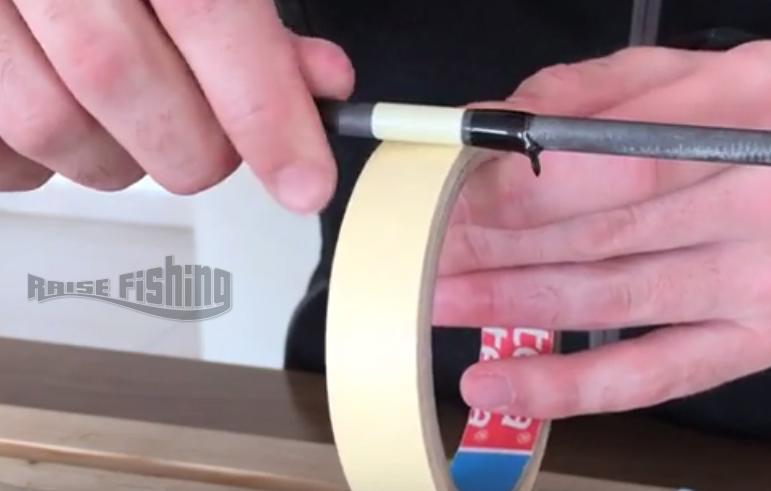 comment réparer enlever un anneau de canne à pêche