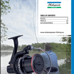 catalogue accessoires de pêche shakespear 2017