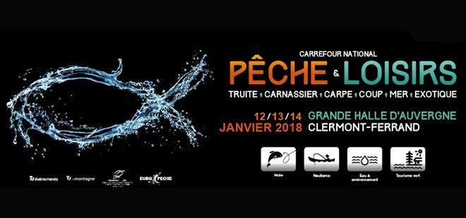 Carrefour national pêche & loisirs de Clermont-Ferrand 2018