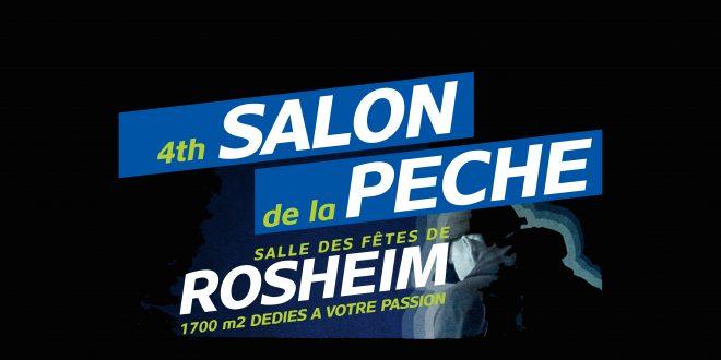 4ème Salon multi-pêche de Rosheim les 24 & 25 février 2018