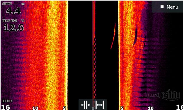 réglage sondeur elite 9 ti structure scan
