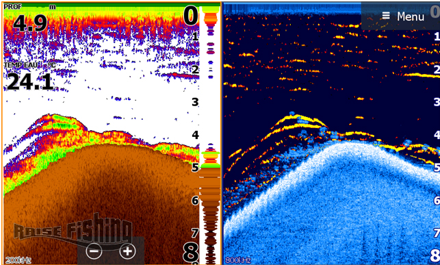 mise a jour fish reveal lowrance