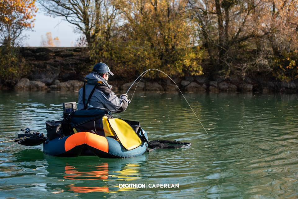 test float tube caperlan