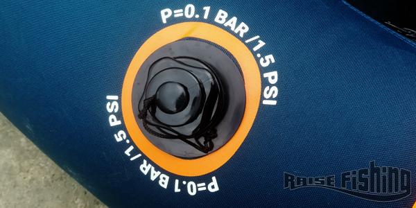 système de valve float tube decathlon
