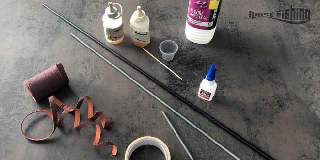 Fabriquer des Reamers pour le montage d'une canne à pêche