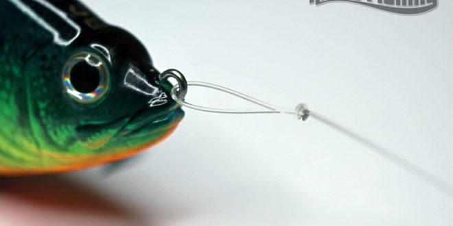 Nœud agrafe pour la pêche au leurre