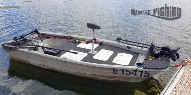 Réaliser un pontage sur une barque Silurine